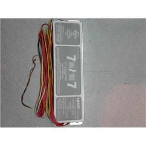 Fulham WH7-120-H FLUORESCENT LAMP BALLAST 34EF