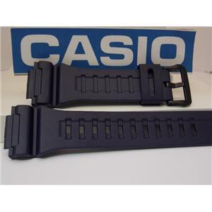 Casio Watch Band AQ-S810 & W-735 BLUE Resin Strap for Tough Solar Illuminator