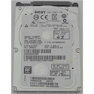 "HGST Z5K500-500 2.5"" SATA 8MB 3.0Gb/s 500GB Slim HDD 5400RPM H2T500854S7"
