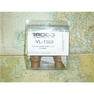 "Boaters' Resale Shop of TX 1706 1724.22 GROCO HVL-1500 VENT LOOP FOR 1-1/2"" HOSE"