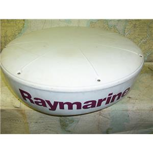 "Boaters' Resale Shop of TX 1706 2444.01 RAYMARINE RD424 4KW 24"" RADAR DOME ONLY"