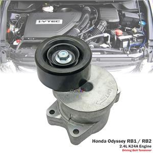 Belt Tensioner Bearing Pulley For JDM Honda Odyssey RB1 RB2 2004-08 2.4L K24A