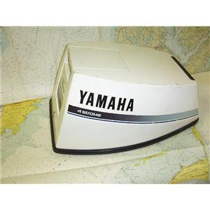 Boaters' Resale Shop of TX 1706 2442.44 YAMAHA 9.9 HP 4 STROKE OUTBOARD COWLING