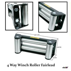 "DD 10"" 9500lb-10000lb-12000lb Replacement Recovery Combo Winch Roller Fairlead"