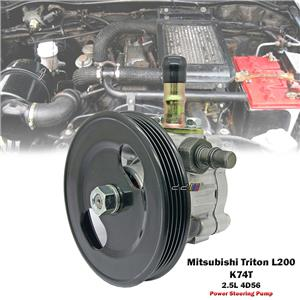 Power Steering Pump For Mitsubishi Triton L200 Storm K74T 1996-04 2.5L 4D56 4WD