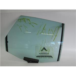 Audi 100/200 right rear door glass window 443845026G