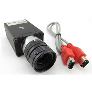 Basler A641fc Color Industrial CCD Camera w/ Pentax TV Lens 16mm 1:1.4