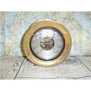 "Boaters Resale Shop of TX 1707 2044.01 CHELSEA BOSTON 3-1/2"" BAROMETER"