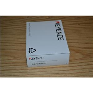 *NEW* Keyence CZ-V22AP RGB Digital Fiberoptic Sensor