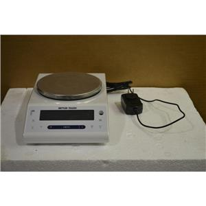 Mettler Toledo ML802E Precision Balance Scale, 820g Max, 0.01g Readability