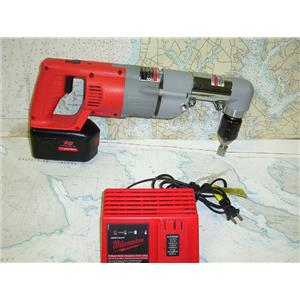 "Boaters' Resale Shop of TX 1707 2057.04 MILWAUKE 18 VOLT 1/2"" WINCH DRILL"