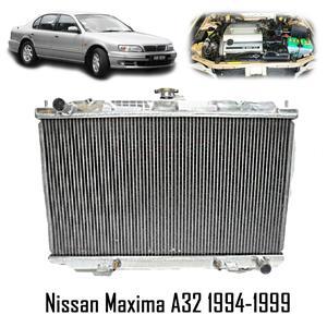 DD Coolant Aluminium Radiator For 92-96 For maxima Wagon Cefiro QX A32  3ltr V6