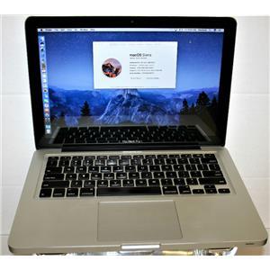 """APPLE MacBook Pro 2.9GHz i7 500GB 8GB RAM Sierra 13.3"""" MD102LL A1286 MID 2012"""