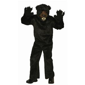 Black Bear Scary Adult Mascot Costume