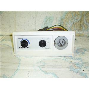 Boaters Resale Shop of TX 1708 3201.12 CRUISAIR CARRY-ON  AC CONTROL PANEL ONLY (KNOBS NOT INCLUDED)