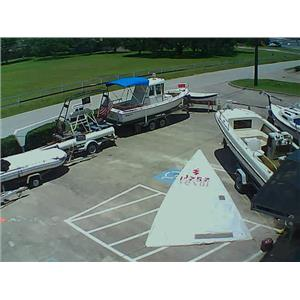 Lightning Mainsail w 23-5 Luff from Boaters' Resale Shop of TX 1310 0106.91