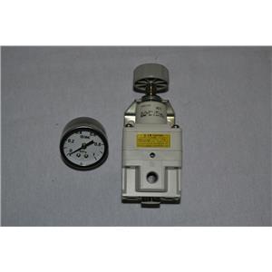 "SMC IR2020-02BG, IR PRECISION REGULATOR, 1/4"" Port Size, 0.01 to 0.8 MPa"