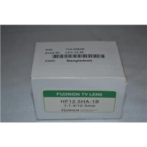 Fujinon / Fujifilm 1:1.4/12.5mm HF12.5HA-1B Lens, C-Mount, Machine Vision