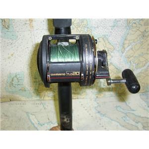 Boaters' Resale Shop of TX 1707 0721.25 SHIMANO TDL20 REEL ON PENN MODEL 530 ROD