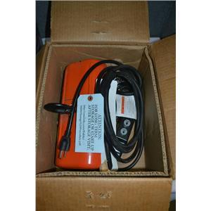 CM ShopStar 1/2 Ton Electric Chain Hoist, 1Ph, 115V, 10' Chain with Jet Trolley