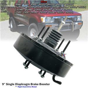 "9"" Single Diaphragm Brake Booster For Toyota Hilux RN80 RN110 LN106 LN107 YN110"
