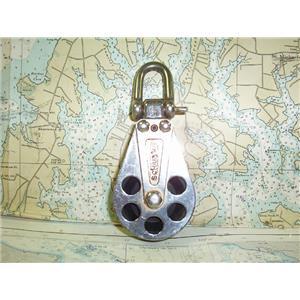 "Boaters' Resale Shop of TX 1708 0251.17 SCHAEFER SERIES 8 BLOCK W/ 2-1/4"" SHEAVE"