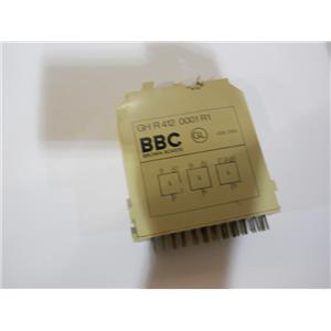Brown Boveri BBC Delay Relay Module Logic Card GH R 412 0001 R1 Used