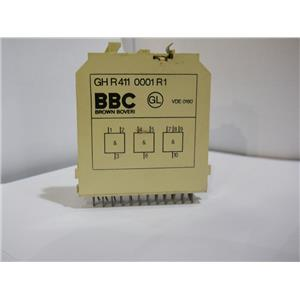 Brown Boveri BBC Delay Relay Module Logic Card GH R 411 0001 R1 Used