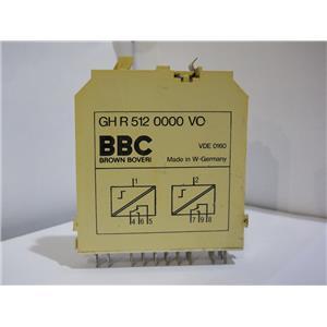 Brown Boveri BBC Delay Relay Module Logic Card GH R 512 0000 VO Used