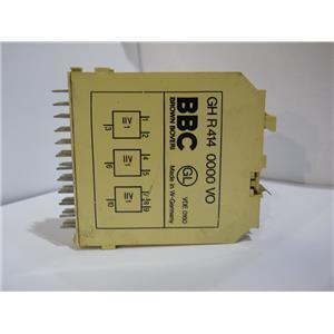 Brown Boveri BBC Delay Relay Module Logic Card GH R 414 0000 VO