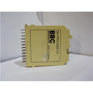 Brown Boveri BBC Delay Relay Module Logic Card GH R703 0000 VO