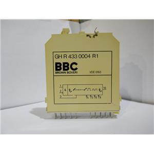 Brown Boveri BBC Delay Relay Module Logic Card GH R 433 0004 R1