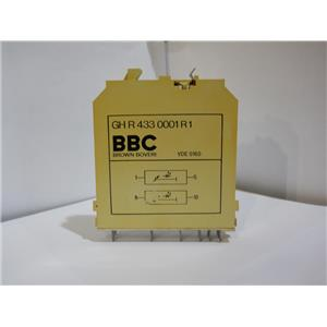 Brown Boveri BBC Delay Relay Module Logic Card GH R 433 0001 R1 Used