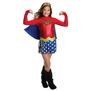 Girls DC Comics Wonder Woman Costume Large 12-14 887659