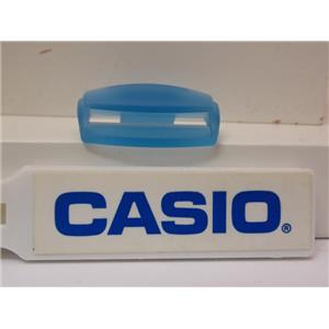 Casio Watch Parts BG-160 Blue Pair. Lug / Cover End Piece. Loop Thru Lug