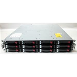 HP Storageworks MSA P2000 G3 iSCSI Dual Controller Array w 12x 2TB SAS HDD