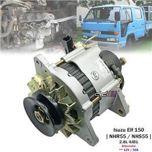 12V 50A Alternator For Isuzu Elf Truck 150 NHR55 NHS55 1986-95 2.8L 4JB1 4JB1-T