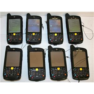 LOT 8 Symbol Motorola MC5574 PYCDUQRA9WR PYCDKQRA7WR Wireless Barcode PDA GSM