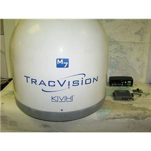 Boaters' Resale Shop of TX 1708 2071.01 KVH M7 TRACVISION DOME, CONVERTER & PORT