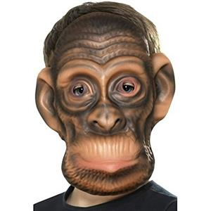 Smiffy's Chimp EVA Foam Costume Animal Mask One Size Fits Most