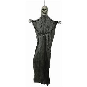 3' Evil Creepy Hanging Skeleton with Chain Halloween Decoration Prop