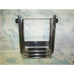 Boaters' Resale Shop of TX 1709 2157.15 WINDLINE 3 STEP RETRACTABLE BOAT LADDER