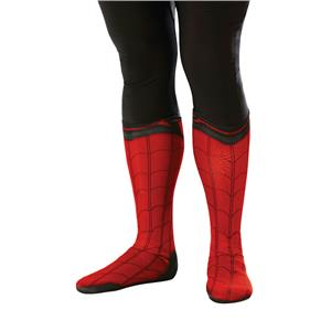 Marvel Spider-Man Homecoming Boot Tops Shoe Covers Costume Accessory