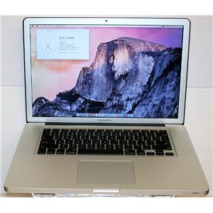 "APPLE MacBook Pro 2.3GHz i7 500GB 8GB RAM El Capitan 15.4"" MD035LL A1286 2011"