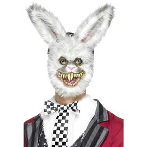 Zombie Furry Bunny Creepy Rabbit Adult Mask