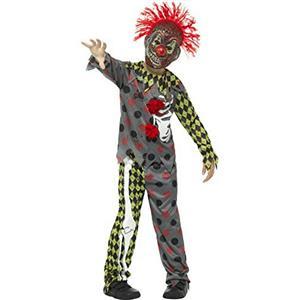 Smiffy's Deluxe Twisted Clown Child Costume Boy's Size Medium 7-9