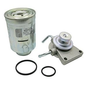 Diesel Fuel Filter Primer Pump For Toyota Hilux 2L & 3L 23301-54410 23303-64010