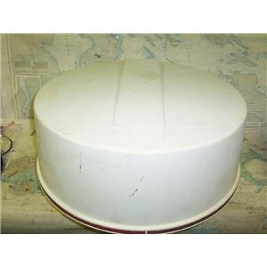 "Boaters Resale Shop of TX 1710 4105.25 RAYTHEON 1603 RADAR 24"" DOME M88294 ONLY"
