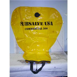 Boaters' Resale Shop of TX 1710 0255.07 SUBSALVE USA COMMERCIAL 500 LIFT BAG