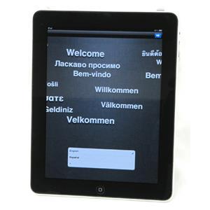 """Black/Silver Apple iPad A1219 1st Gen 9.7"""" 16GB WiFi Model Cleared & Reset"""